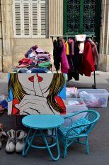 Flea market (Dijon) © Alison Jordan