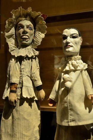 Sinister puppets, Museés Gadagne (Lyon) © Alison Jordan