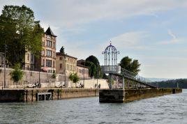 'Le belvédère et les lanternes de l'île Barbe', art installation (Lyon) © Alison Jordan